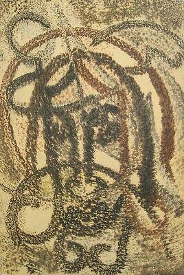 Leon Sliwinski 1916-2001 / Monotypie / Christusdarstellung /Prov: Willi Cronauer