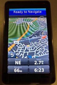 Garmin Nuvi 3710 GPS Sat Nav Ultra-slim Line UK & Ireland + France & BeNeLux (no offers!)