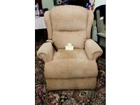 Sherborne Rise and Recliner Chair Beige Colour