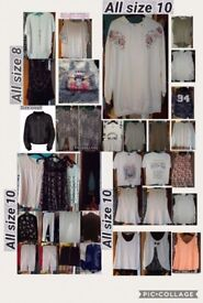 Ladies size 8/10 clothes bundle all immaculate some new