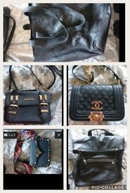 5 ladies bags in very good/excellent condition