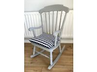 Child's Rocking Chair with Cushion