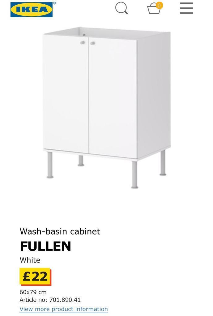 Pleasant Ikea Fullen Wash Basin Cabinet In Holloway London Gumtree Best Image Libraries Barepthycampuscom