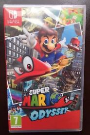Super Mario Odyssey - Nintendo Switch Video Game - Brand New and Sealed - Mario Bros Brothers