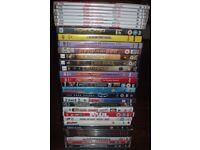 32 original dvd's