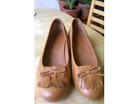 Cubanas shoes in leather - Size 6