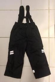 Ski trousers age 3-4