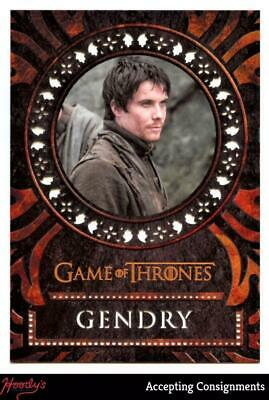 2019 Game of Thrones Inflexions Laser Cuts #L35 Gendry