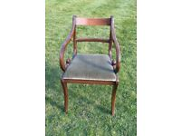 Bevan and Funnell Mahogany Dining Chairs
