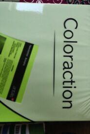 Printer paper, pale green