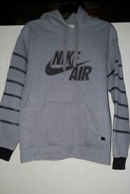 Nike Grey Stripe Hoodie