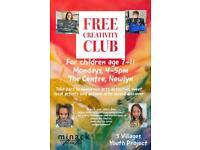 Free creativity club
