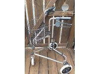 Walking Aid with wire basket in great order