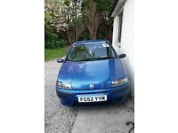 Fiat punto 1.2 years mot! Perfect first time car !