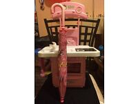 Hello kitty kitchen set and peppa pig umbrella ...