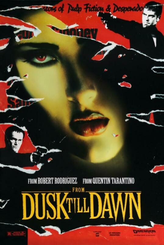 "FROM DUSK TILL DAWN 11""x17"" Movie Poster Print Glossy Borderless USA Seller NEW"