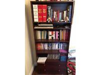 Mahogany book unit