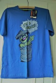 Sesame Street 'Grouch' T Shirt New with Labels