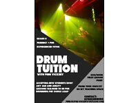 AFFORDABLE DRUM LESSONS WITH FRIENDLY AND EXPERIENCED TEACHER