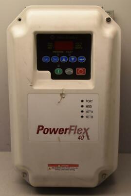 Allen Bradley 22b-v2p3c104 Powerflex 40 3 Phase 0-230v Output Vfd