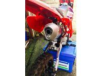 M2R 125 Custom MX Pit Bike CRF70 Stomp Demon X Race