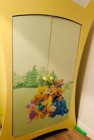 Disney wardrobe chest of draws and toy box
