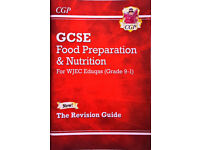 New Grade 9-1 GCSE Food Preparation & Nutrition - WJEC Eduqas Revision Guide CGP Food 9-1 Revision