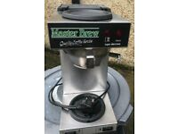Electronic coffee filter machine