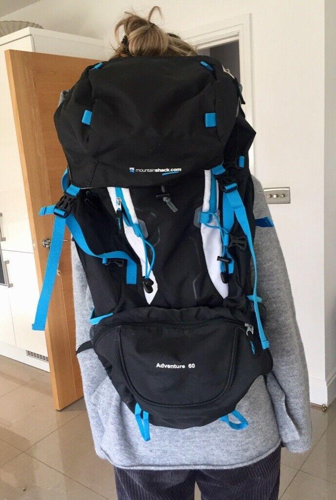 1ff4e85a8499 Mountain Shack 60 litre rucksack