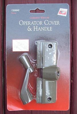 ANDERSEN CASEMENT WINDOW OPERATOR CRANK HANDLE AND COVER 1978-1996 1359642-