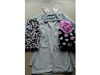 Womans bundle of nightware, dressing gown and pjs