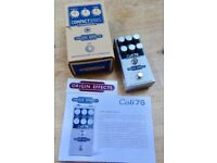Origin Effects Cali76 Compact Deluxe Compressor - Studio quality at your feet. Simply the best.