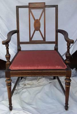 1900-1950 Lovely Morris Chair Pair Of Brackets D5276 Antiques