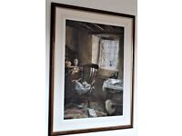 Keith Andrew limited edition framed print 'Quiet Room'