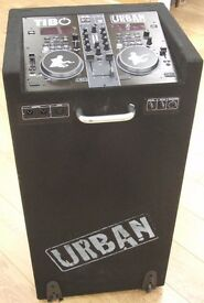 TIBO Urban 500 Wireless DJ Mixing Desk with Built-in Speakers PA System