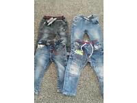 Boys next jeans size 9-12 months