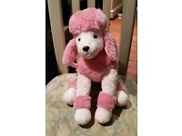 Russ Stuffed Animal Toy Pink Poodle Purse / Bag