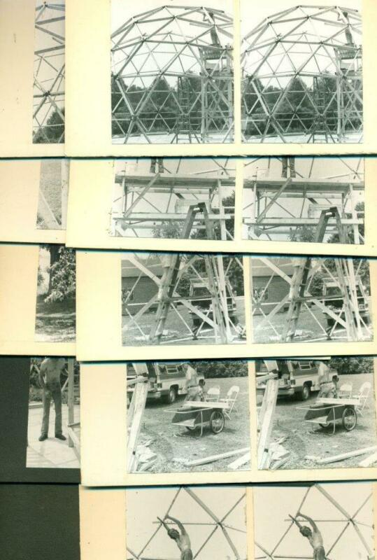 LOT of 9 VINTAGE 1982 GRAVERSON DOME CONSTRUCTION by JAY KAY KLEIN ARCHITECTURE