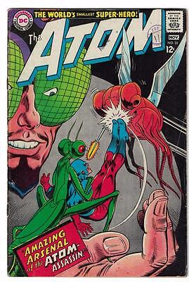 DC Comic ATOM Silver age  #33 FN  superman 1967