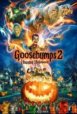 Goosebumps 2 Movie Poster Photo 8x10 11x17 16x20 22x28 24x36 27x40 Halloween](Halloween Movie Poster 27x40)