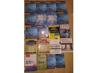 Original MCITP/MCSA Microsoft Training material: Windows 7/Server 2008/Comptia A+/Security+/Network+