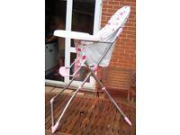 Ladybird highchair
