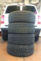 """Four 17"""" Winter Tires"""