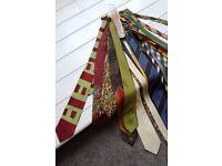Silk ties. Some designer ones! Cost over £400 new. Bargain!