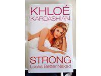 Hardcover Book - Khloe Kardashian 'Strong Looks Better Naked'