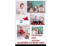 Christmas mini session 50£