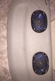 Kenwood Car CD player & speakers