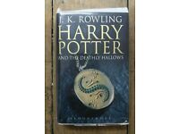 Harry Potter and The deathly Hallows by J. k. Rowling 2000