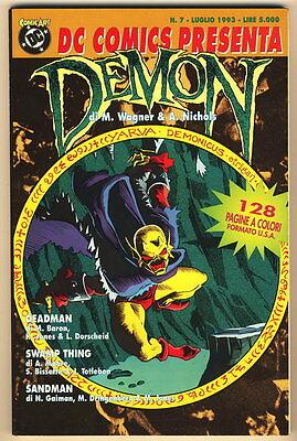 DC COMICS PRESENTA DEMON N. 7 1993