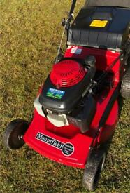 "Big Honda Petrol self propelled mower reliable GCV 5.5hp engine 21"" alloy deck lawnmower serviced"